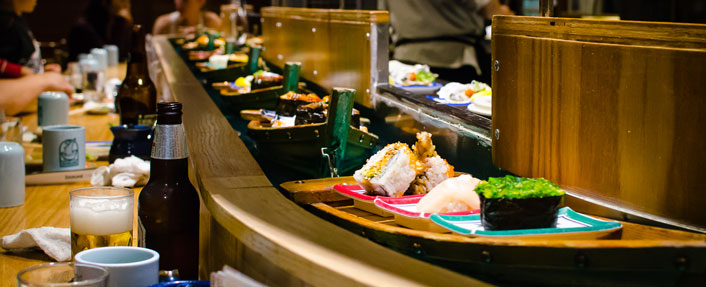 Image result for Conveyor Sushi