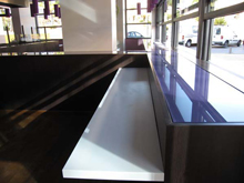 Magnetic kaiten sushi conveyor, transporter, slider, completed projects, photo of mounting