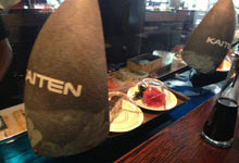 Water kaiten conveyor sushi, kaiten sushi boat, transporter, slider, kaiten sushi boat