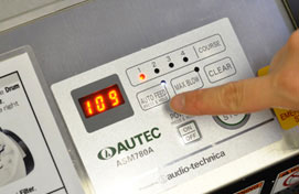 When a program is completed – a machine can automatically place rice to the box below.
