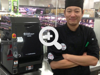 Clients who uses sushi robots, sushi machines, and sushi equipment