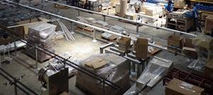Production of kaiten sushi conveyors
