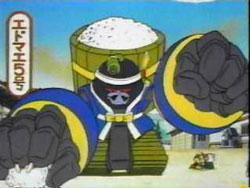 Children's cartoon about AUTEC sushi robots