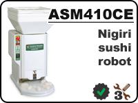 ASM410 nigiri sushi robot for forming rice balls