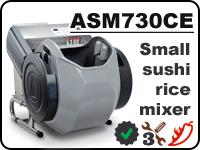 ASM730CE – compact sushi rice mixer