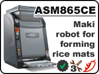 ASM865CE - universal maki robot