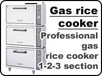 Professional gas rice cooker Fujimak