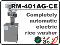Automatic Konica Minolta rice washer RM-401AG-CE for rinsing away starch