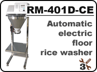 Automatic Konica Minolta rice washer RM-401D-CE for washing rice