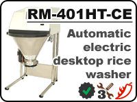 Electric rice washer Konica Minolta RM-401HT-CE for rinsing starch