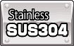 Stainless SUS304: An alloy of SUS304 is the high-quality corrosion-resistant stainless steel used for external elements of robots and their bodies. Because of the high resistance to corrosion – special finishing of a surface isn't required. With SUS304 alloy, a machine is very easily cleaned and can be kept clean for a long time.